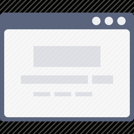 design, engine, google, search, webpage, windowlayout, wireframe icon
