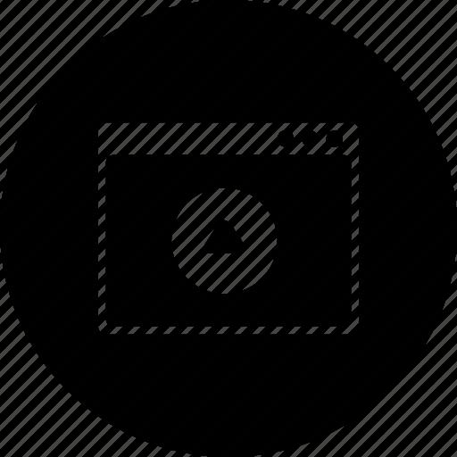 design, layout, option, upload, webpage, window icon