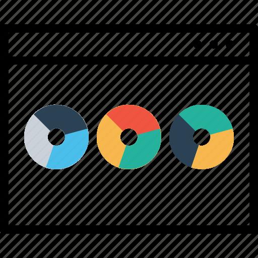 analysis, chart, graph, layout, statics, webpage, window icon
