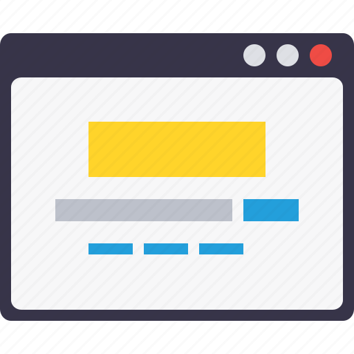design, engine, google, search, webpage, window layout, wireframe icon