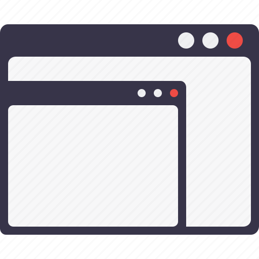 browser, content, internet, page, subpage, subwindow, window icon