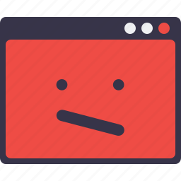 crash, design, layout, sign, smiley, webpage, window icon