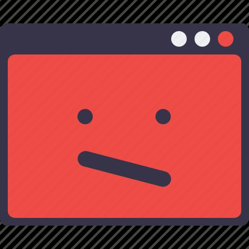 Crash, design, layout, sign, smiley, webpage, window icon - Download on Iconfinder