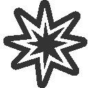 bang, flash icon