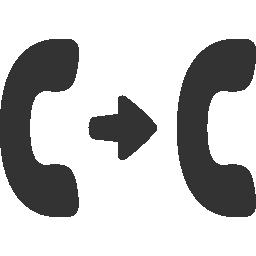 call, transfer icon