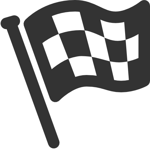 finish, flag icon