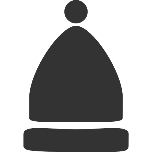 beanie, hat icon