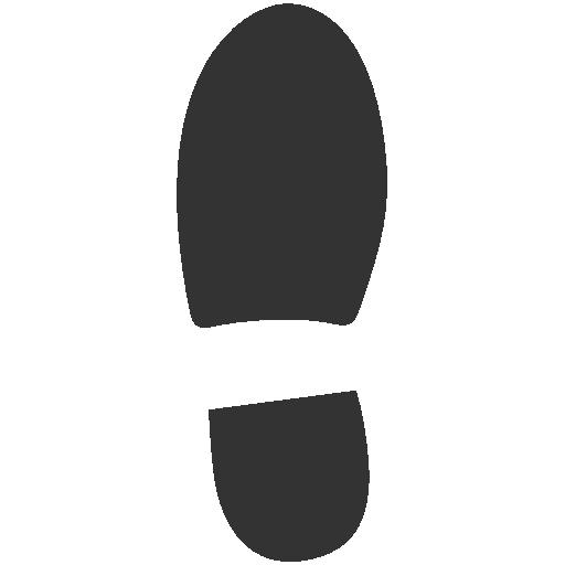 left, shoe icon