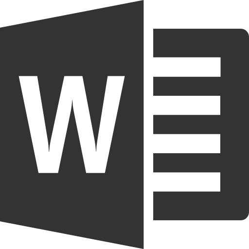 Word File Icon Png Word Icon Png