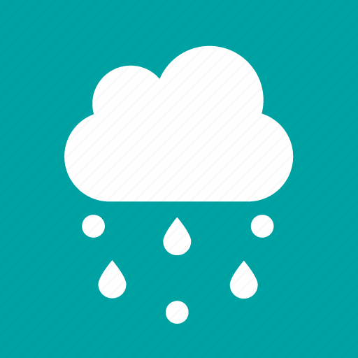 forecast, hail, rain, weather icon