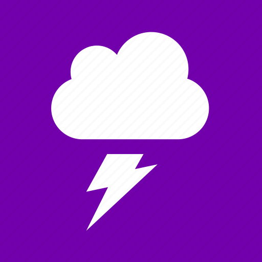 forecast, lightning, storm, thunder, weather icon