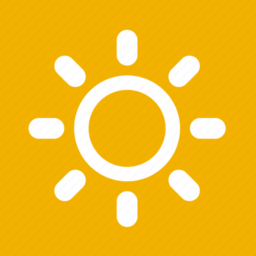 Hot, sunny, warm, weather icon | Icon search engine