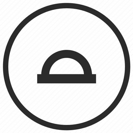 angular, instrument, measurement icon
