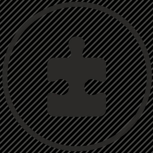 element, game, logic, part, puzzle icon