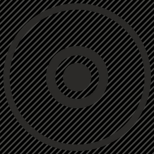 choice, element, radiobutton, round icon