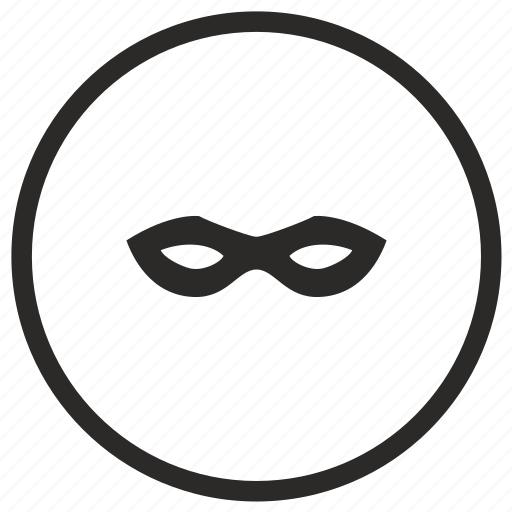 hero, mask, robin, round icon