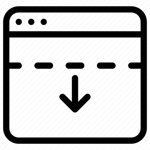 application, grid, header, layout, windows icon