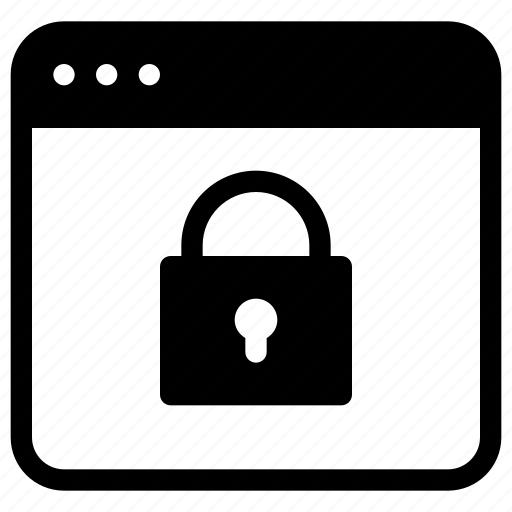 application, key, lock, mobile, password, protection, secure icon