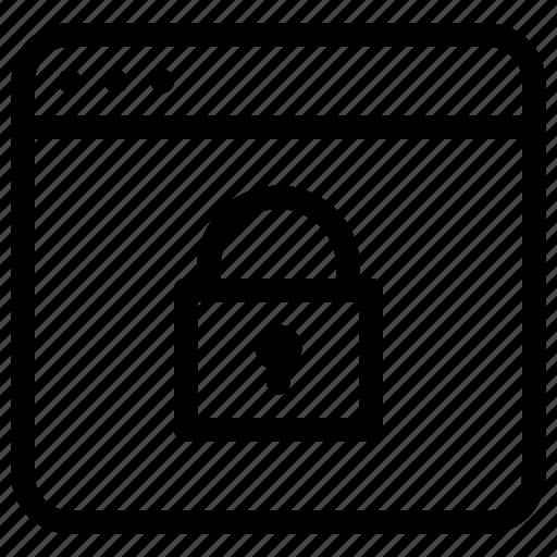 app, application, lock, password, windows icon