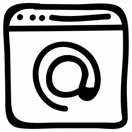 browser, email, internet, online, webpage icon