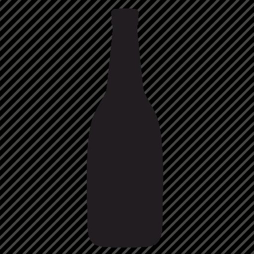 bottle, restaurant, wine icon
