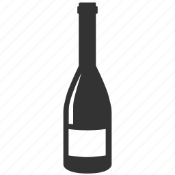 alcohol, bar, bottle, champagne, cocktail, sparkling wine, wine icon