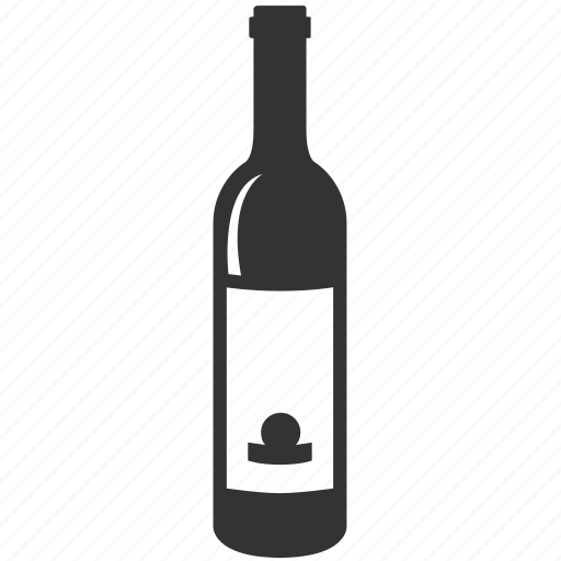 alcohol, bar, bottle, cocktail, red wine, white wine, wine icon
