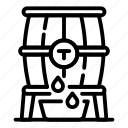 barrel, brandy, thin, vector, yul906 icon