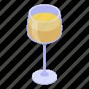 cartoon, flower, glass, isometric, wedding, wine, yellow