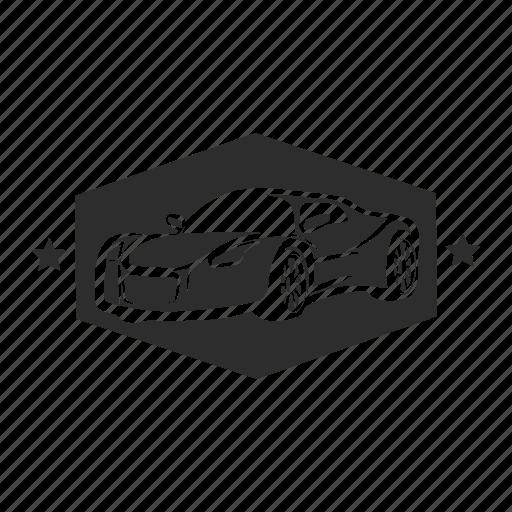 car, motor, repair, service, station, work icon