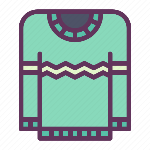 blanket, cold, protection, sweater, wear, winter icon