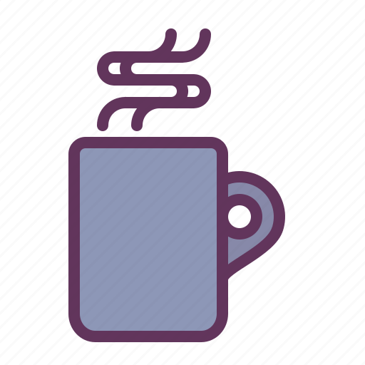 coffee, cup, drink, hot, mug, relax, winter icon