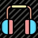 earmuff, headphone, winter icon