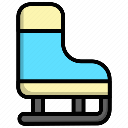Ice, ice skating, skate, skating, winter icon - Download on Iconfinder