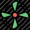 cooler, fan, winter icon