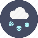 christmas, cloud, new, snow, snowfall, winter, year icon