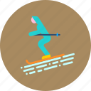 game, recreation, ski, skiing, sports, vacation, winter icon