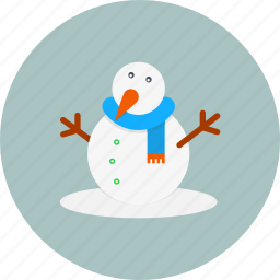 carrot, christmas, new, snow, snowman, winter, year icon
