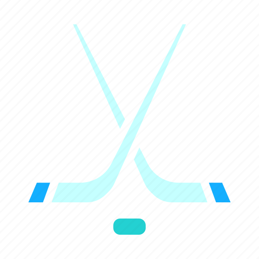 game, hockey, ice, puck, sports, stick, winter icon
