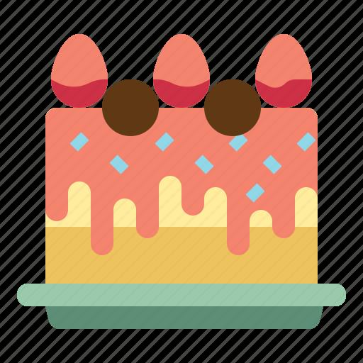 anniversary, birthday, cake, dessert, party icon