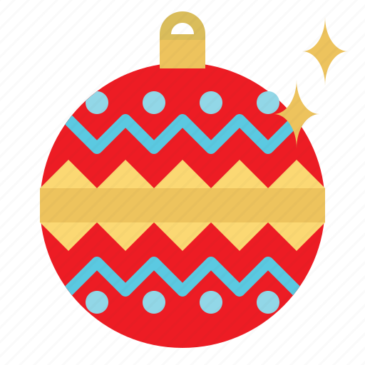 Ball, bauble, christmas, decoration, element icon - Download on Iconfinder