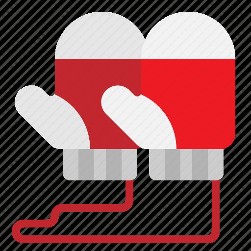 Glove, mitten, mittens, snow, winter icon - Download on Iconfinder