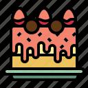 anniversary, birthday, cake, dessert, party