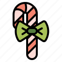 candy, candycane, cane, christmas, stick icon