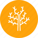 fall, stick, tree, winter, wooden icon