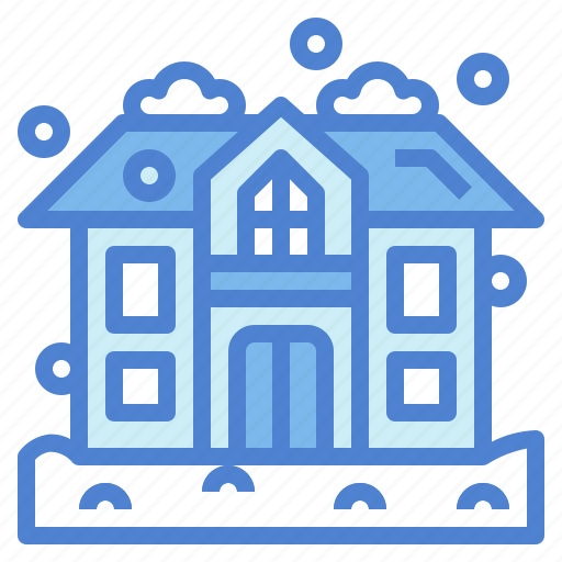 frost, home, snowy, winter icon