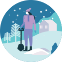 activity, winter icon