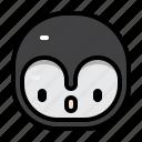 avatar, penguin, winter, animal, christmas, character