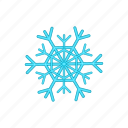 cartoon, cold, design, ice, snow, snowflake, winter icon