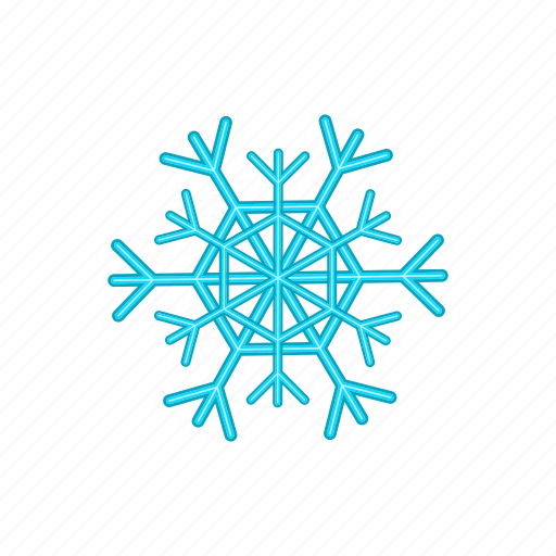 Cartoon, cold, design, ice, snow, snowflake, winter icon - Download on Iconfinder